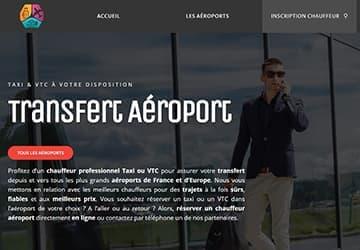 Service de navettes Taxi et VTC avec les Aéroports de France